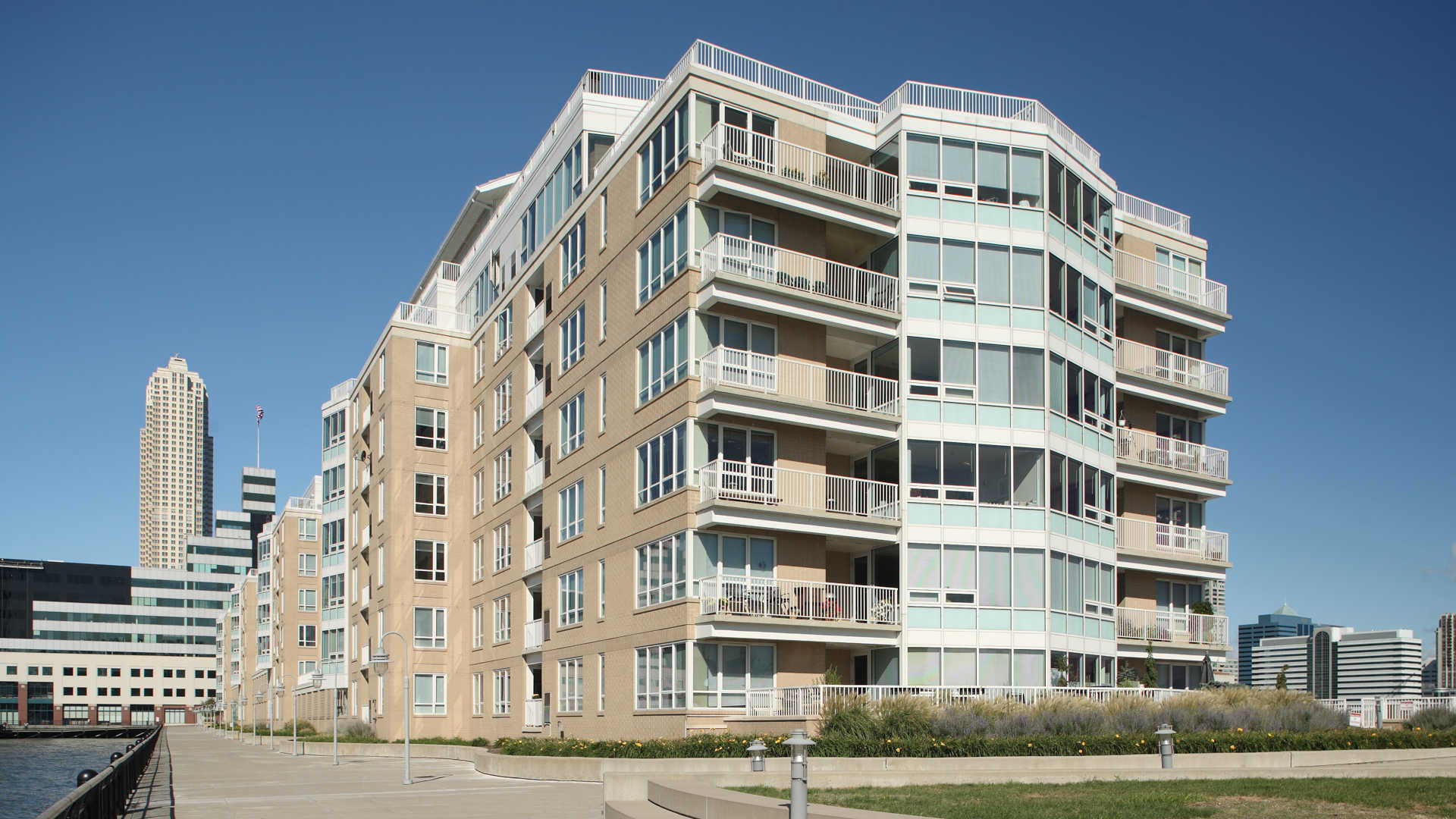 The pier apartments exterior