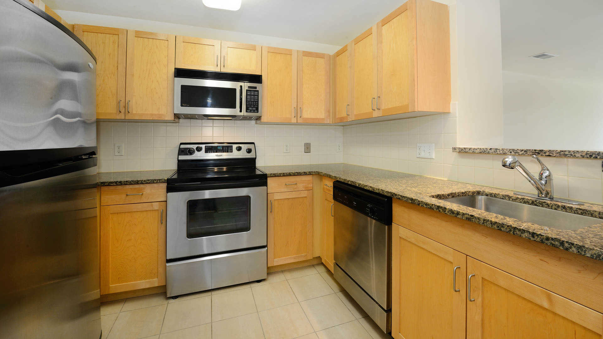 The pier apartments kitchen