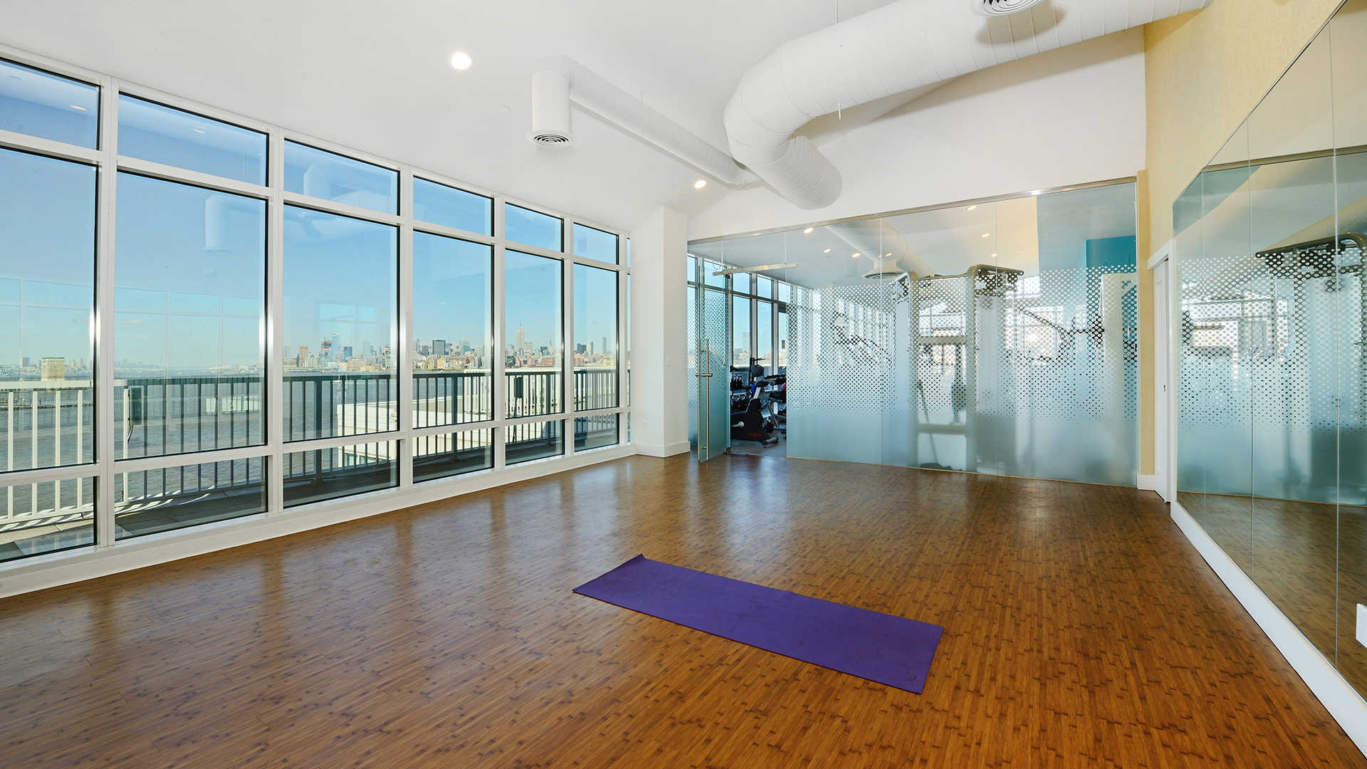 The pier apartments yoga studio
