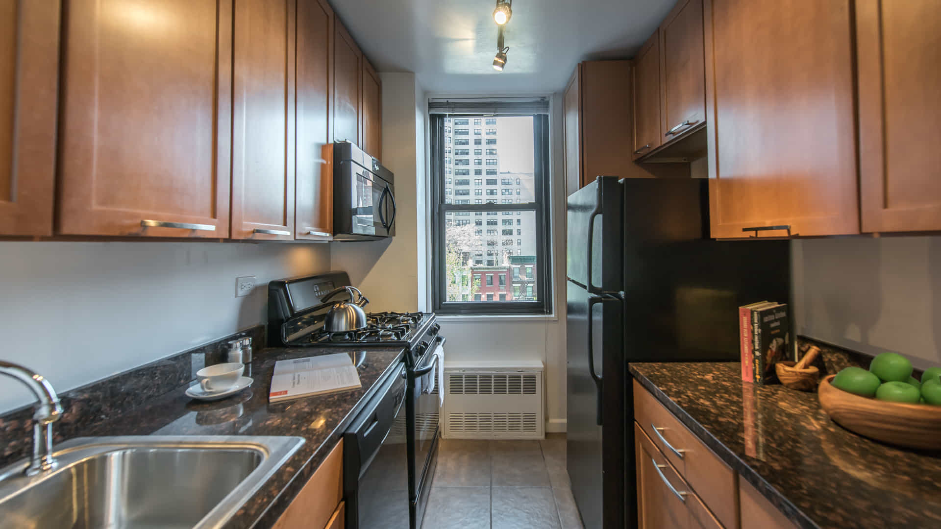 Parc east apartments kitchen