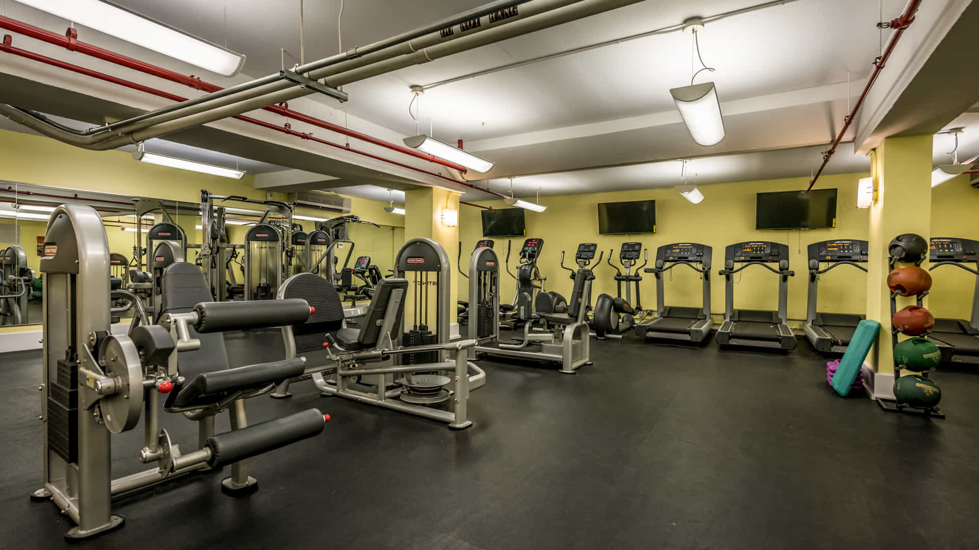 Parc east apartments fitness center