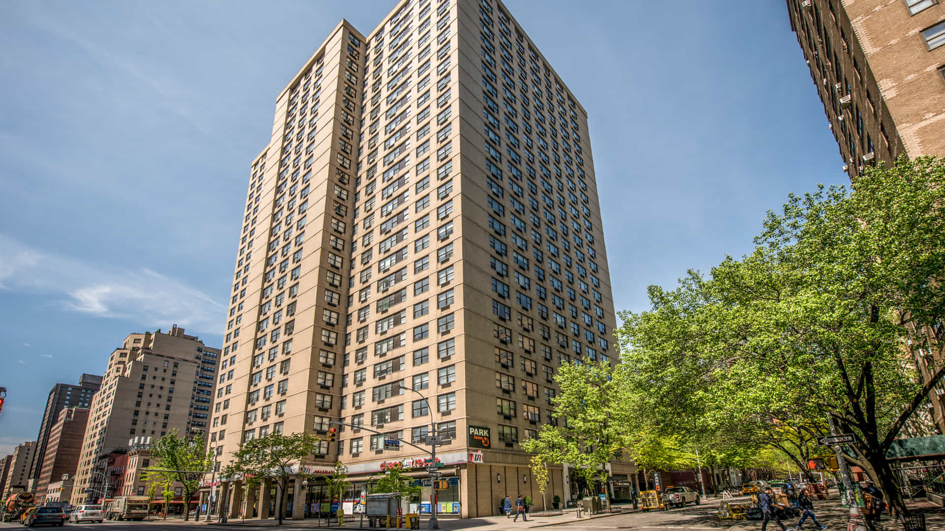 Parc east apartments exterior