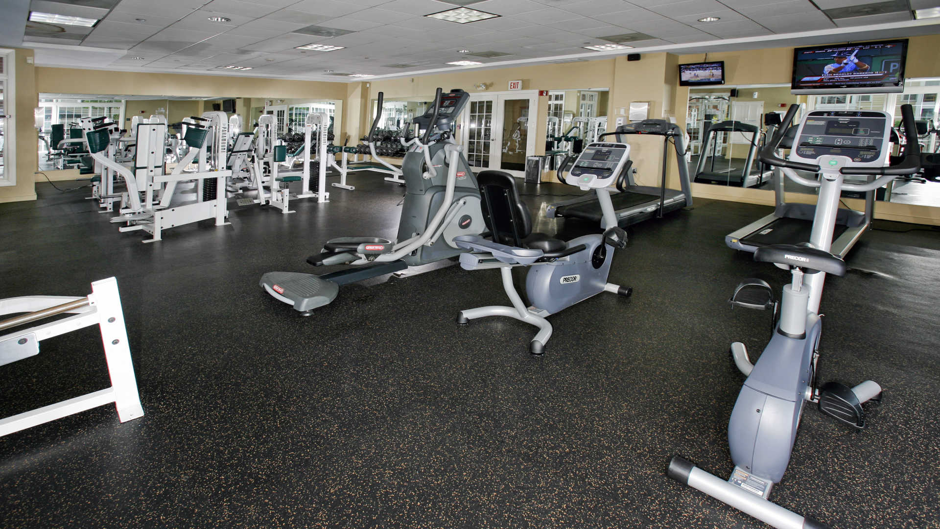 Fairfield apartments fitness center