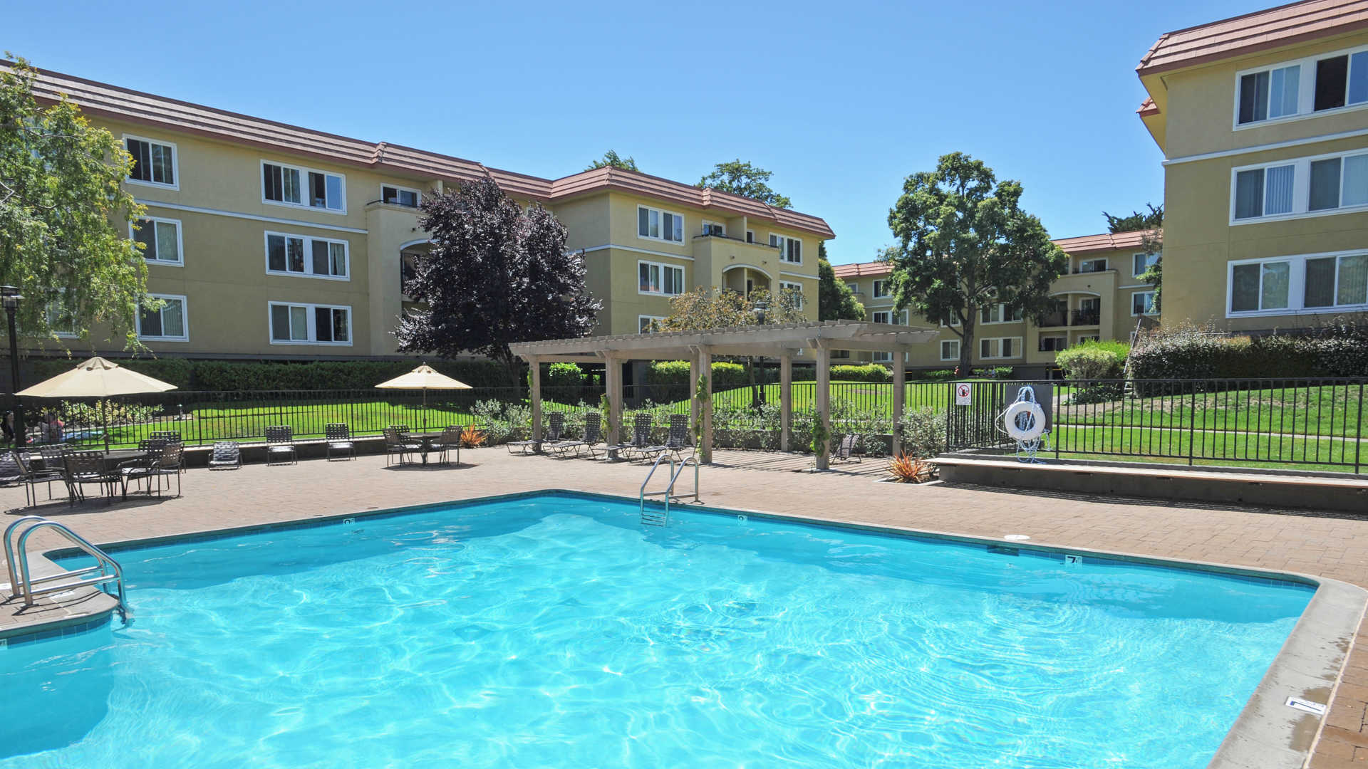 Private Indoor Swimming Pools northpark apartments - burlingame - 1080 carolan avenue