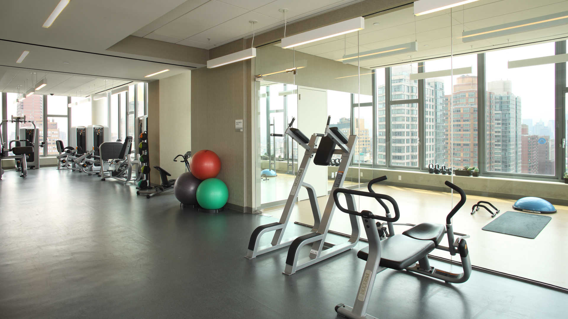 Attractive Fitness Center