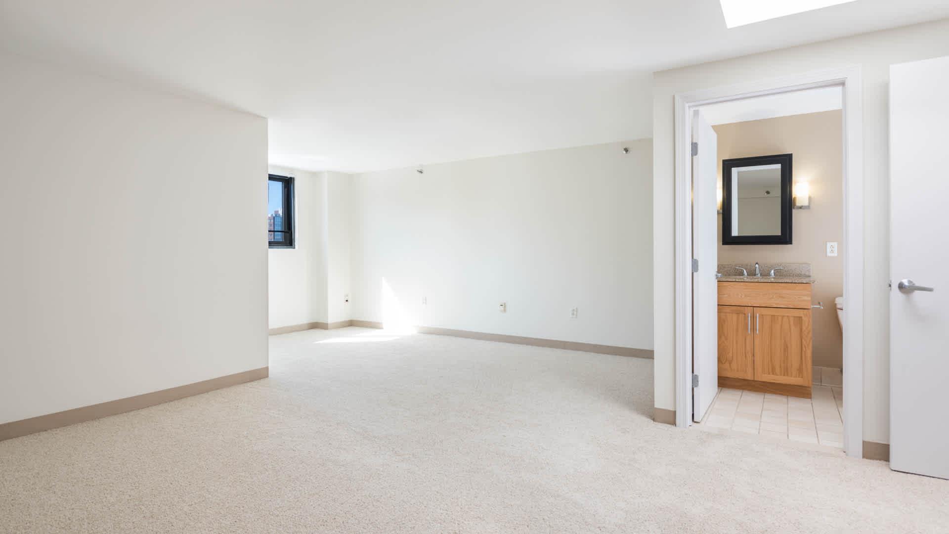 Lofts at kendall square apartments bedroom
