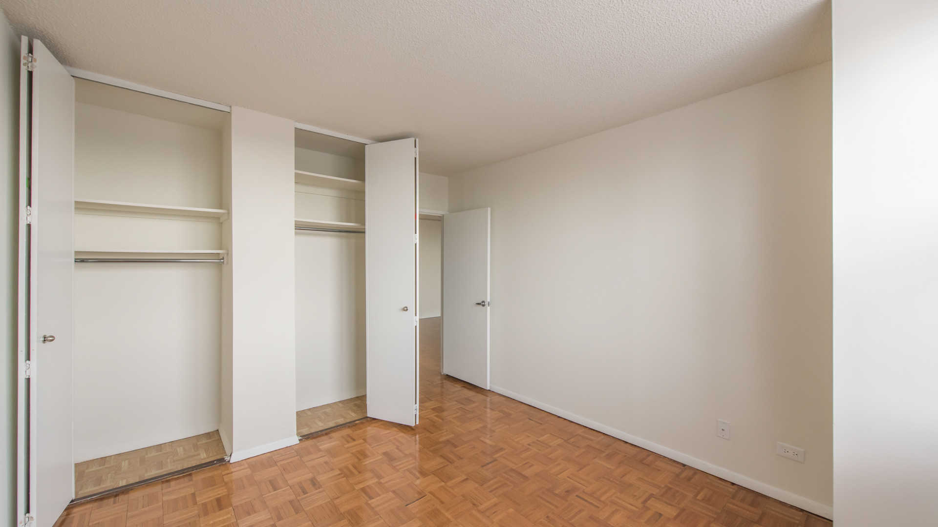 Bedroom with Full-Sized Closet