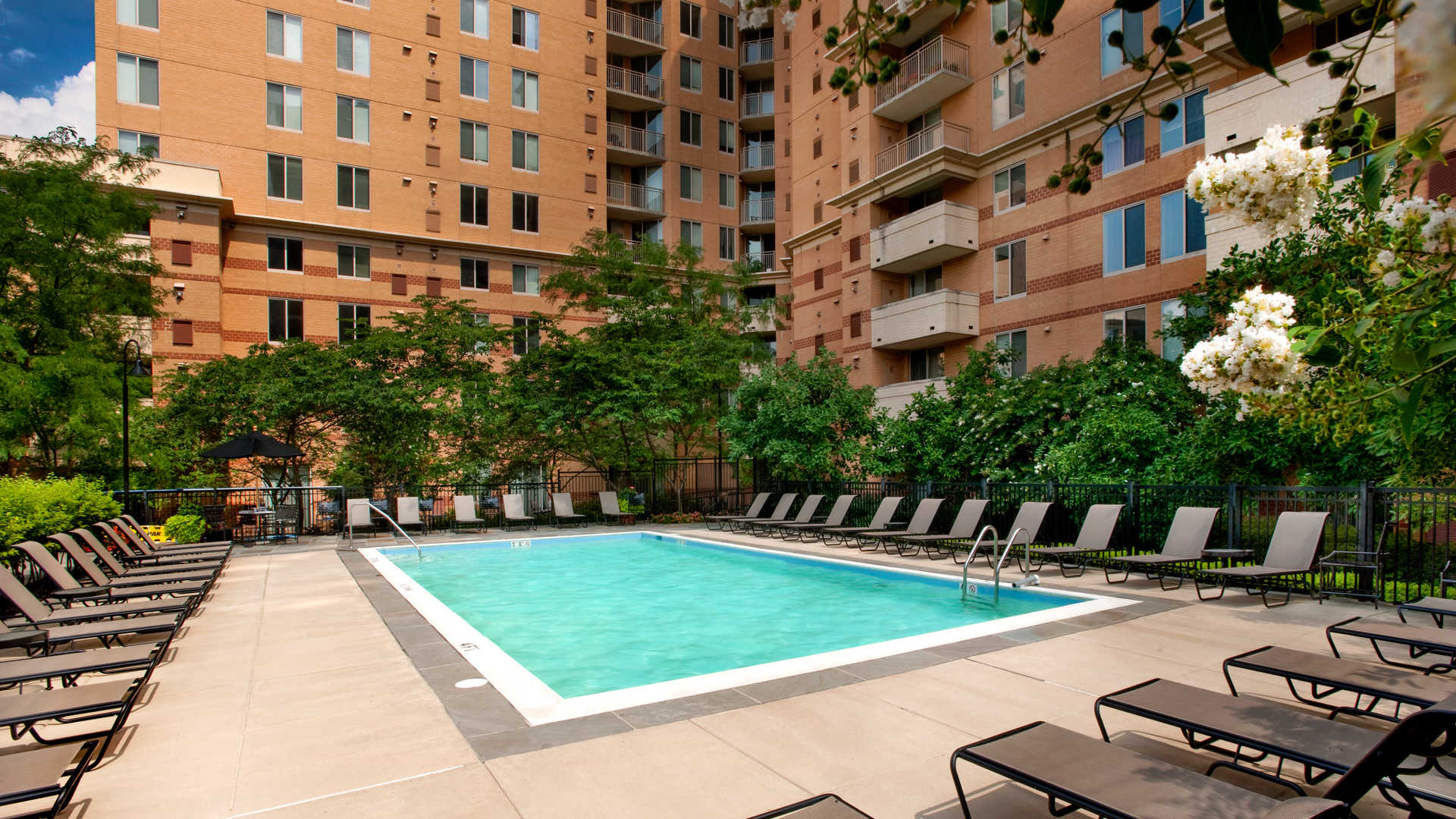 Outdoor Swimming Pool and Sun Deck
