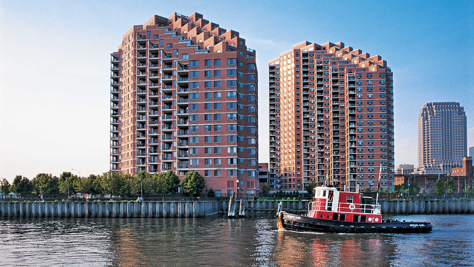 Portside towers apartments building