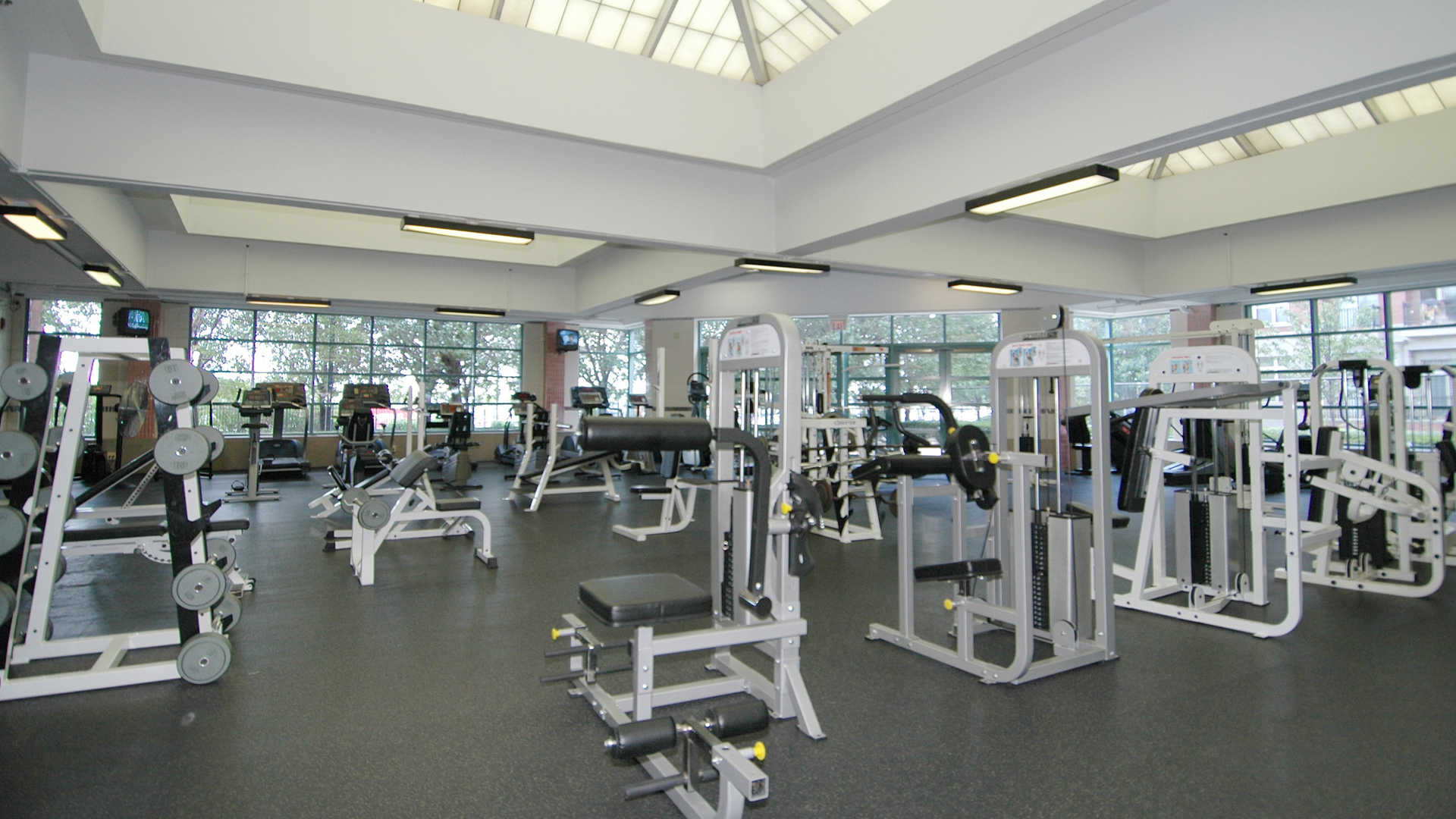 Portside towers apartments fitness center