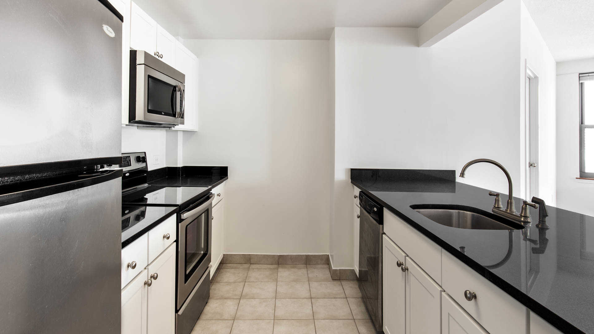 Portside towers apartments kitchen