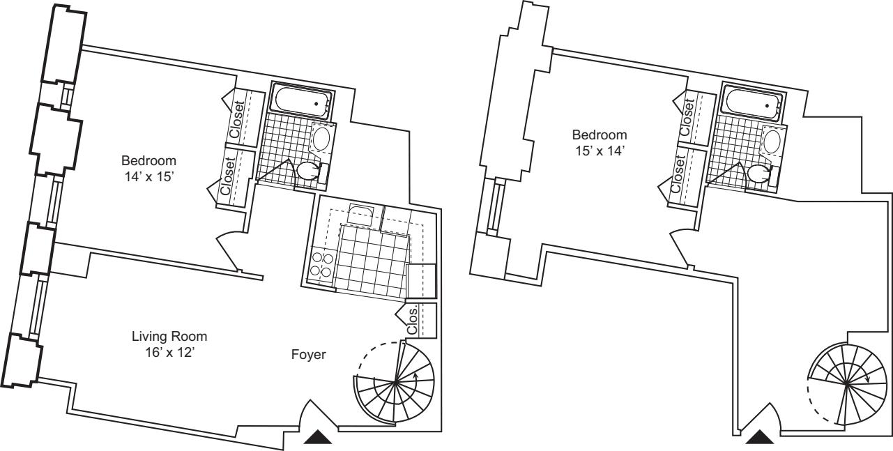 2 Bedroom K - Duplex