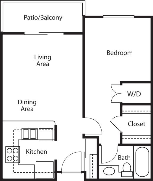 One-Bedroom / One-Bath