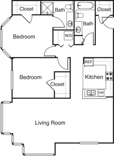 2 Bedroom -1178