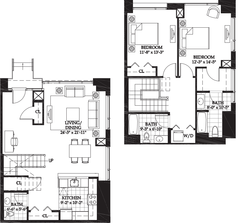 Asteria Two Bedroom Townhome (2)