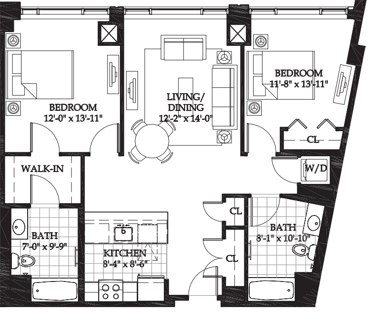 Asteria Two Bedroom (6)