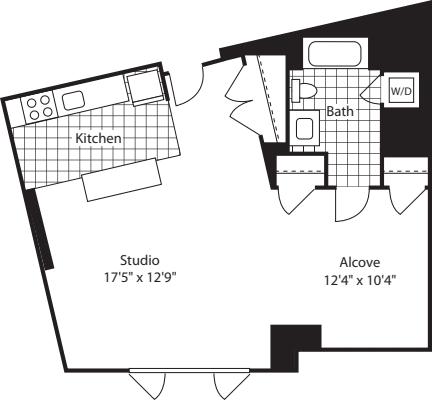 Studio (North) - 645