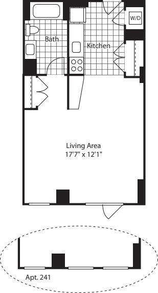 Studio (North) - 521