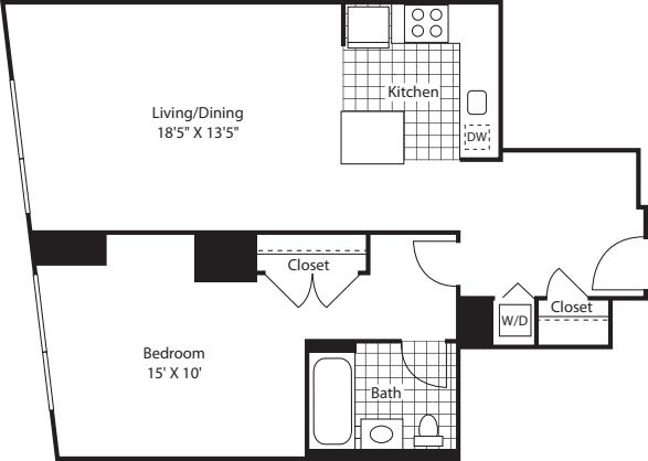 One Bedroom AK FL 3-6