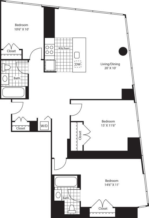 Three Bedroom D