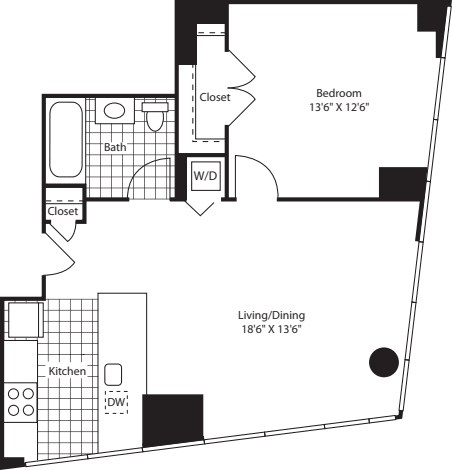 One Bedroom WindCAKit FL 47-49