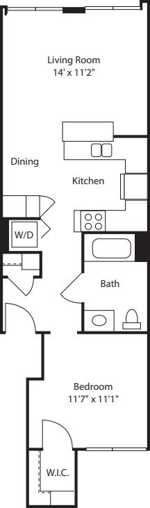One Bedroom 644