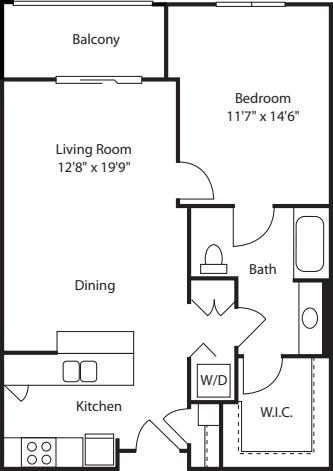One Bedroom 794
