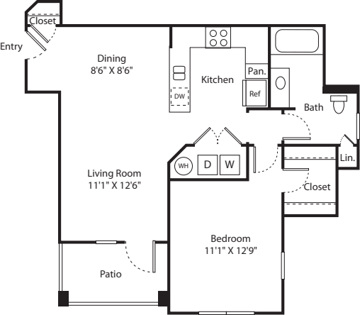 One Bed A-1 - Phase II