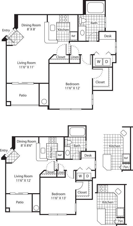 One Bed A-2 - Phase I