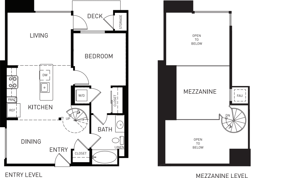 A5M with Mezzanine