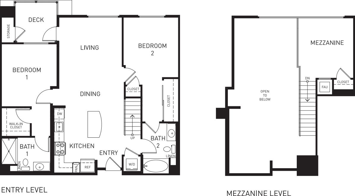 B6M with Mezzanine