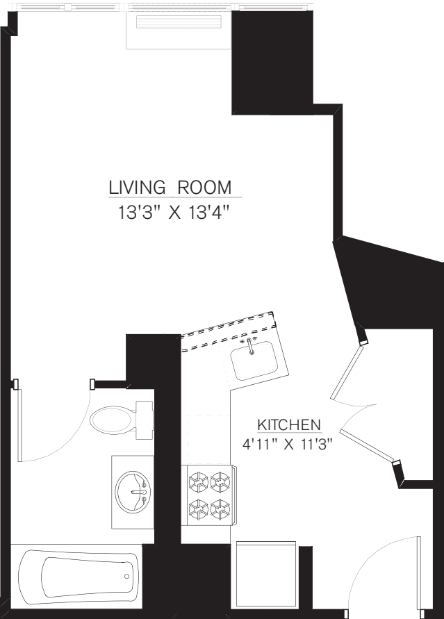 Studio B Line floors 5-50