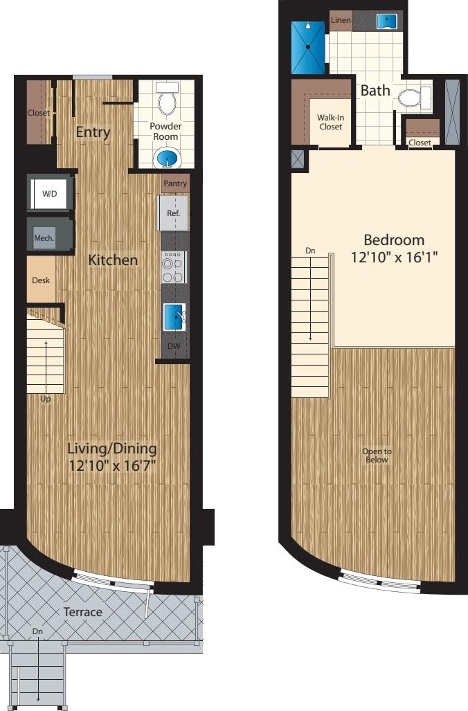One Bedroom B 903