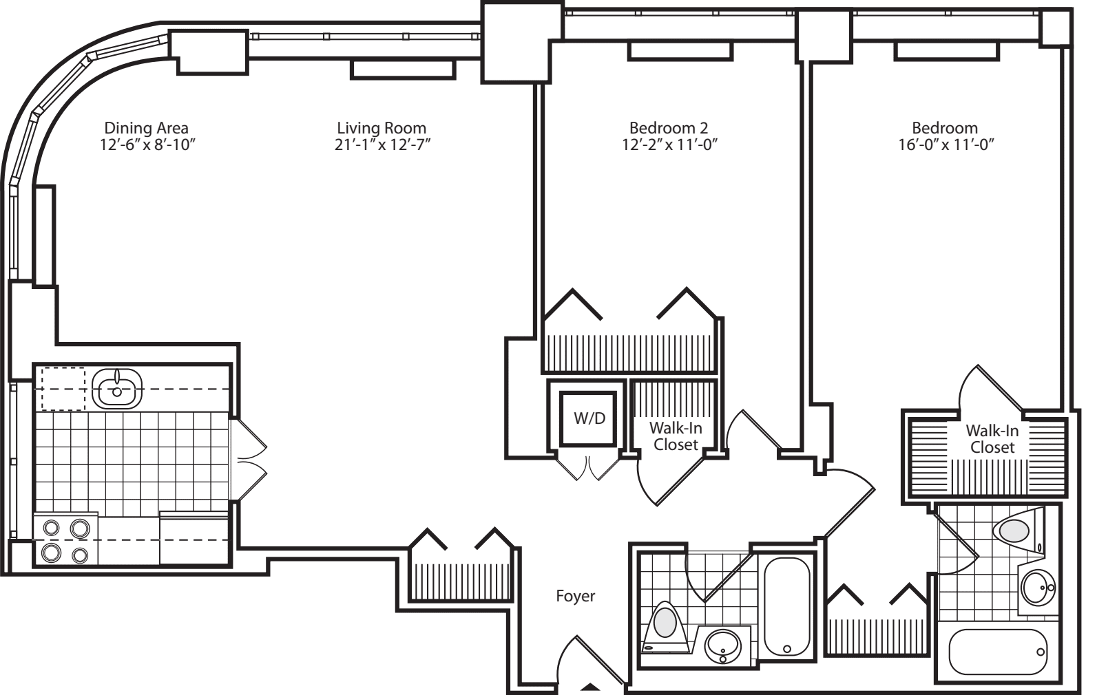 Penthouse 1C and 2C