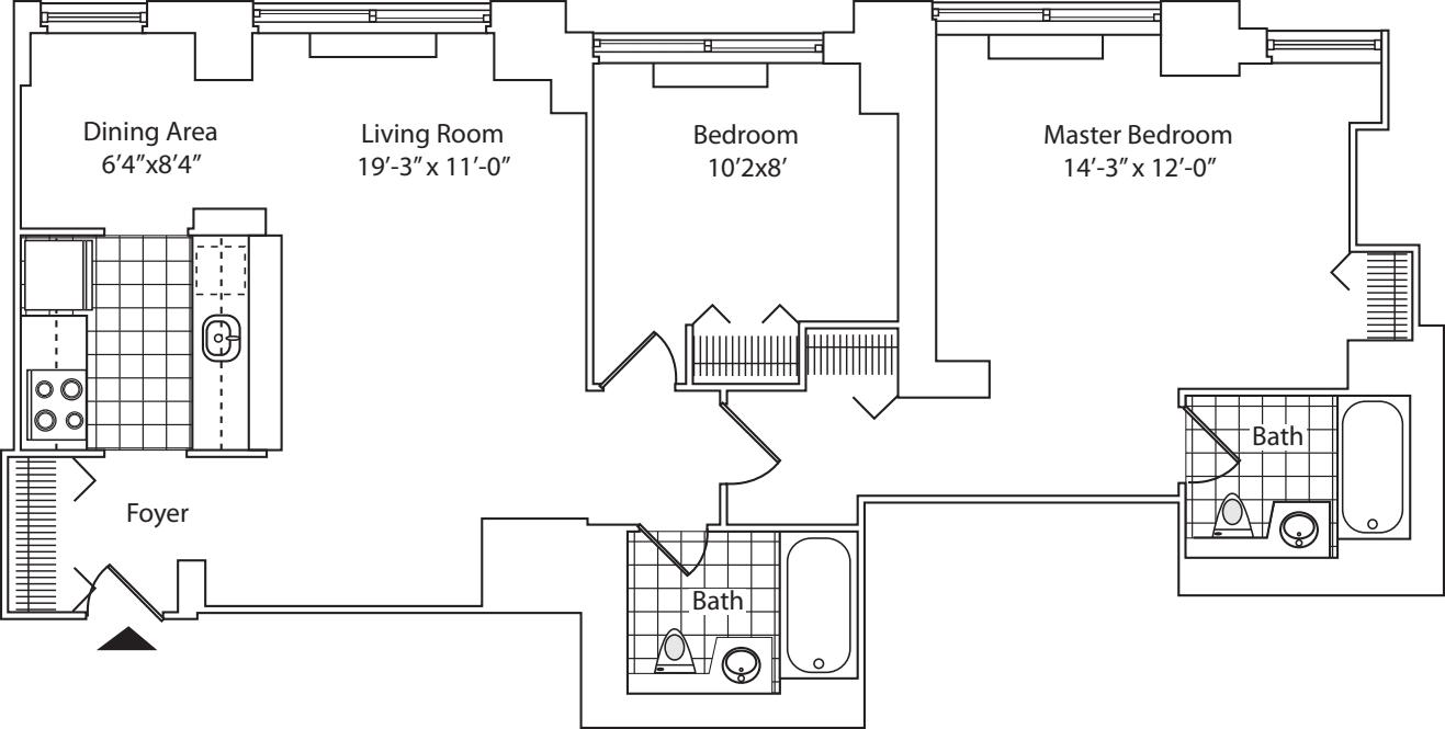 Residence C, Floor 19