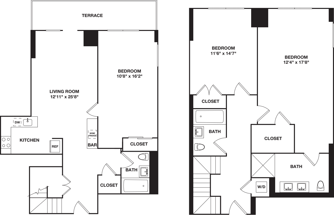 Three Bedroom Duplex E