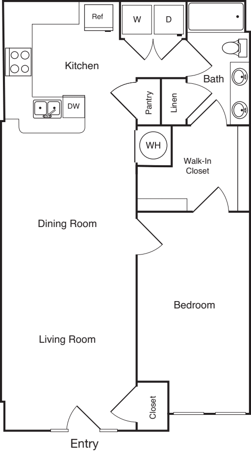 1 Bedroom A5