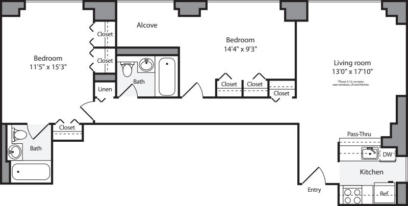 2 Bedroom G