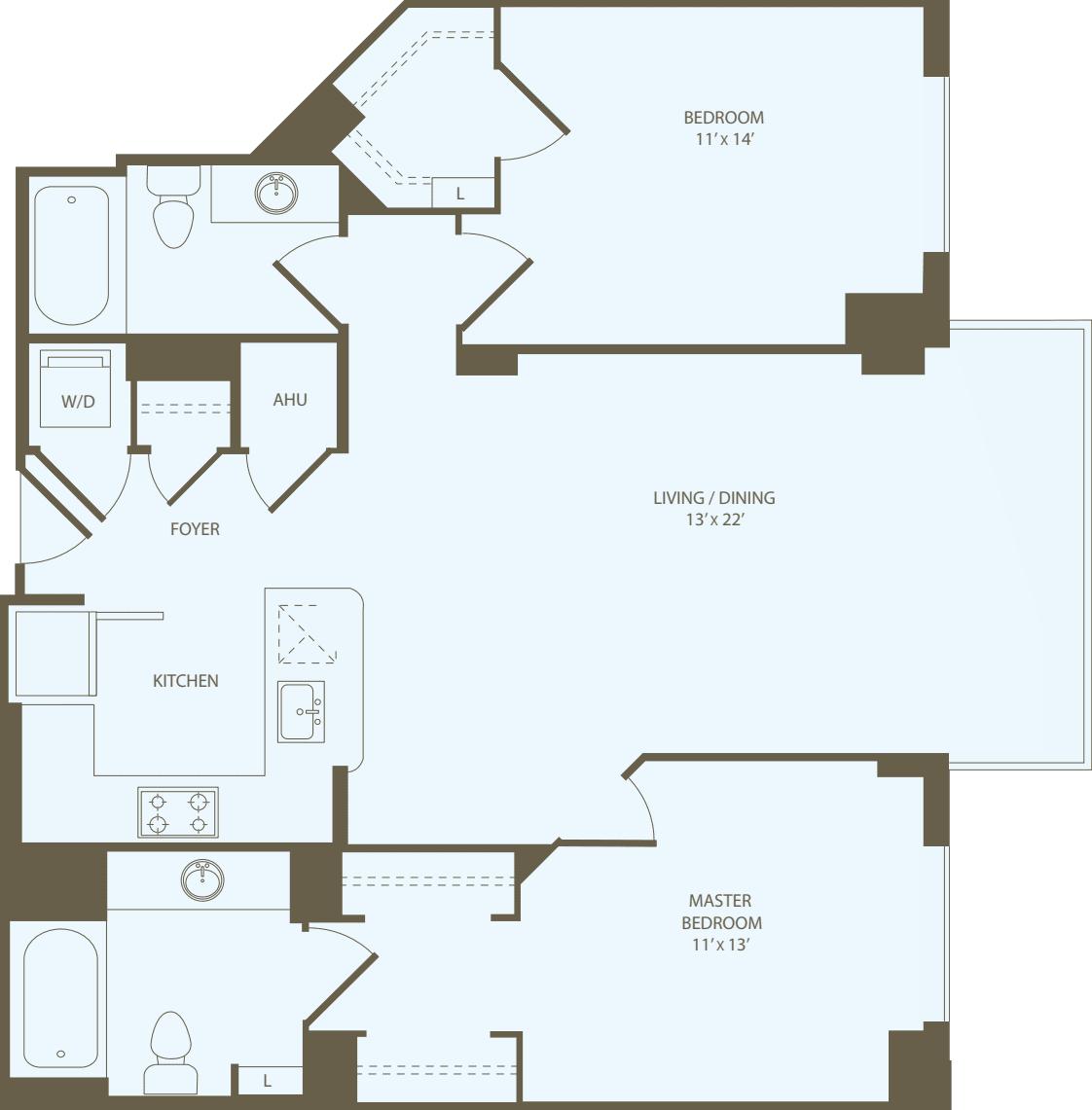 2 Bedrooms N_RW