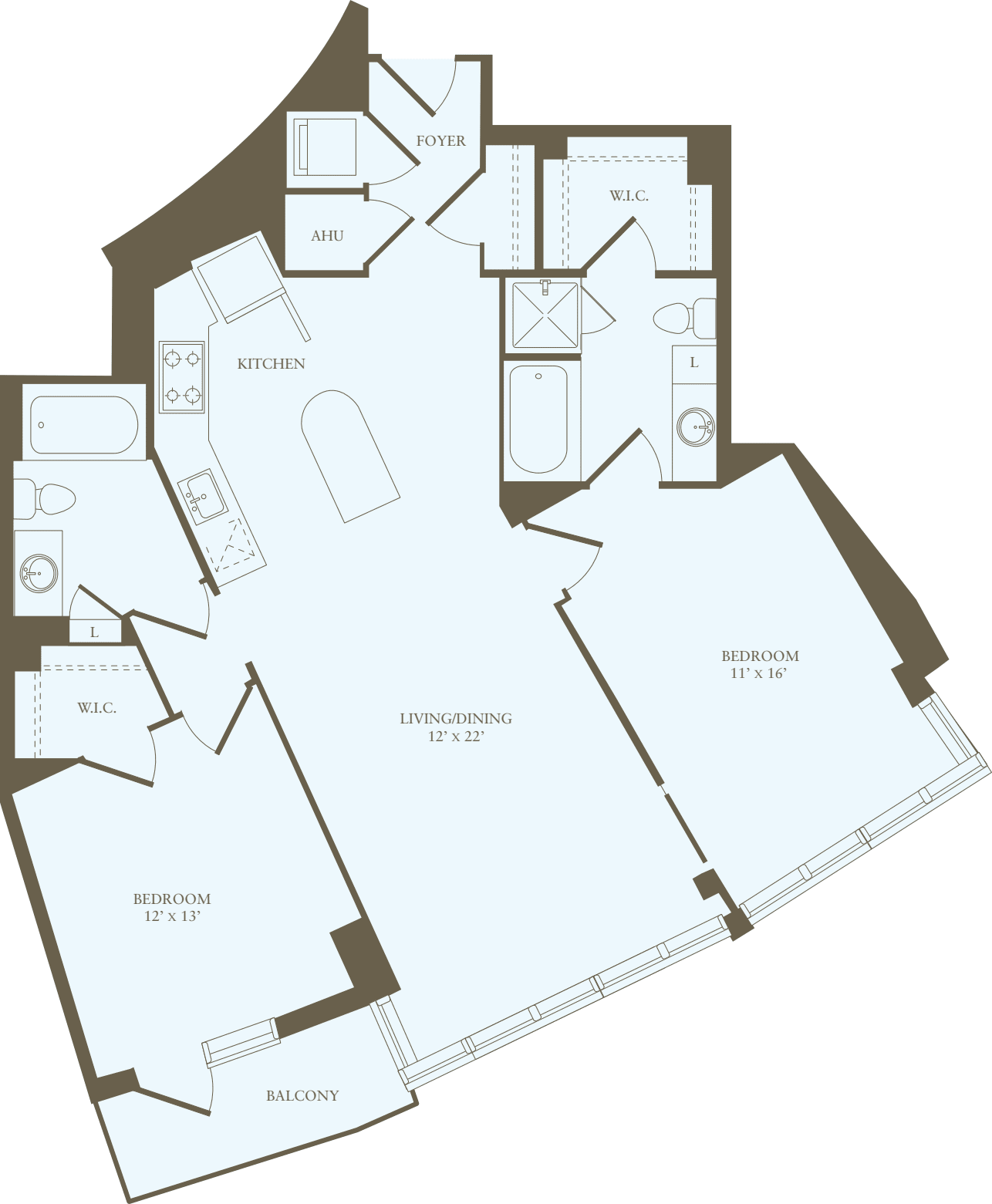 2 Bedrooms Z