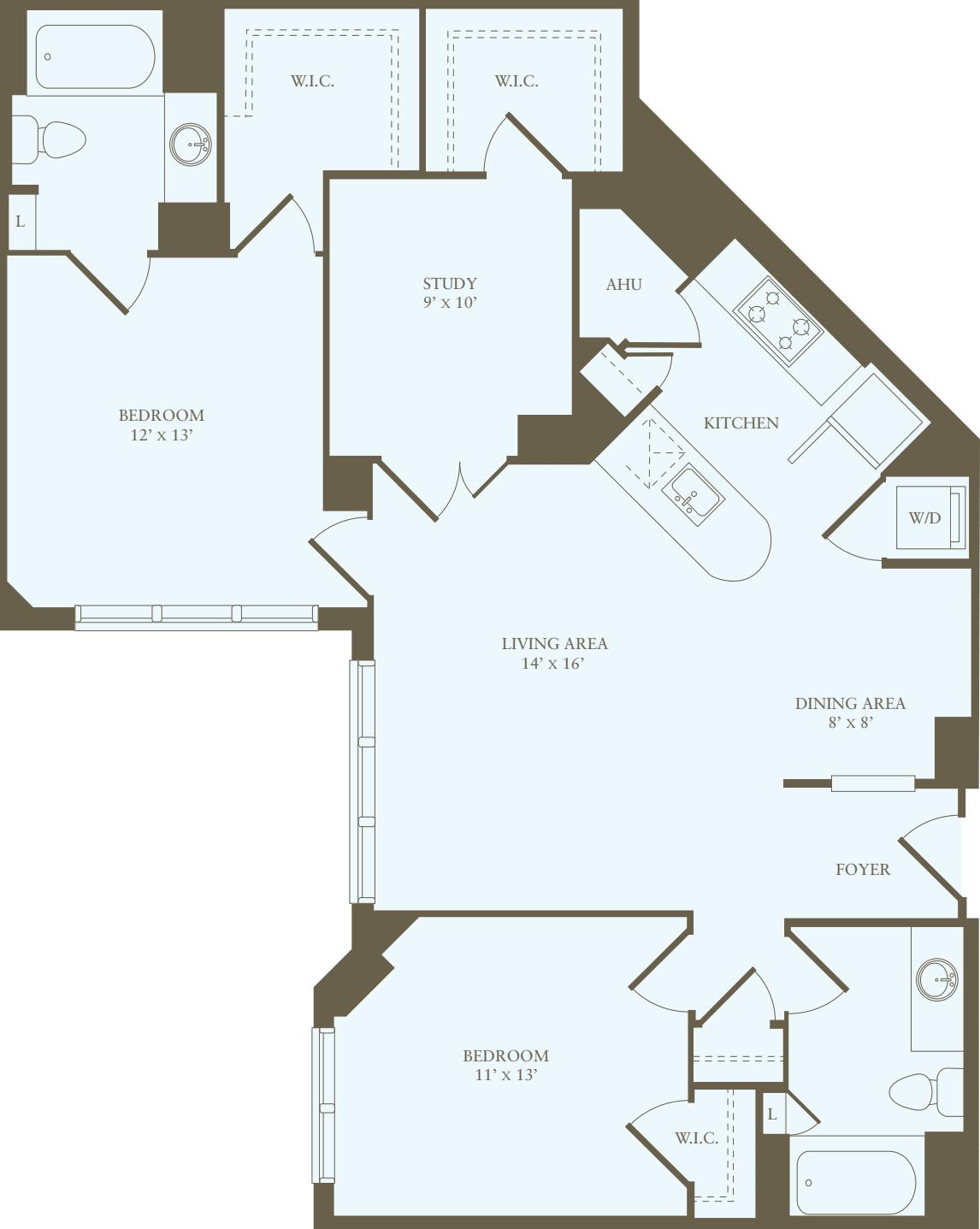 2 Bedrooms KK