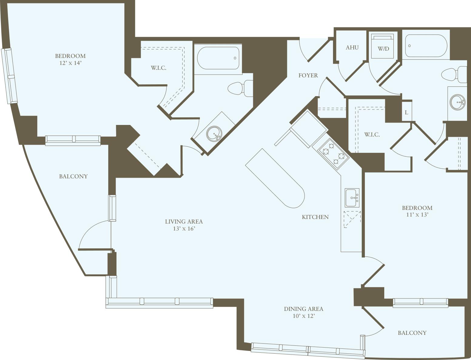 2 Bedrooms QQ