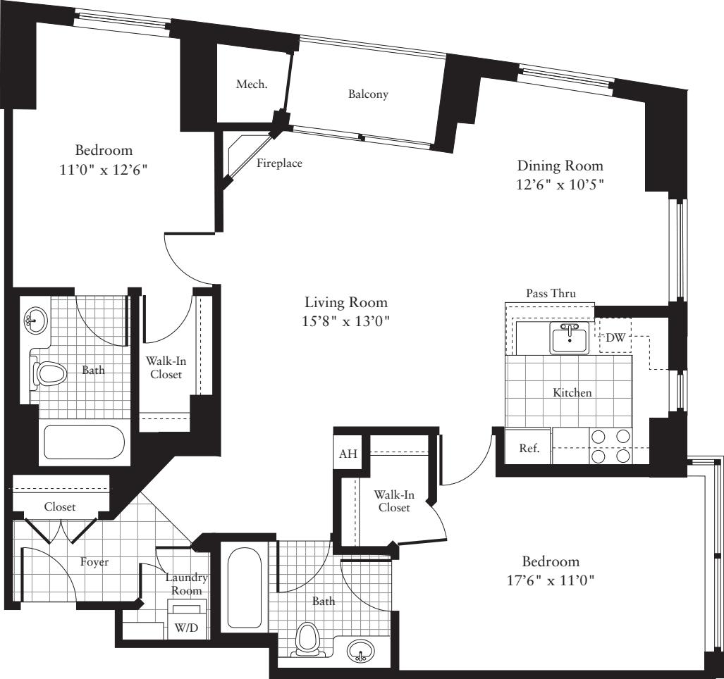 2 Bedrooms D