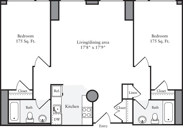 The Lofts 2 Bedrooms EE