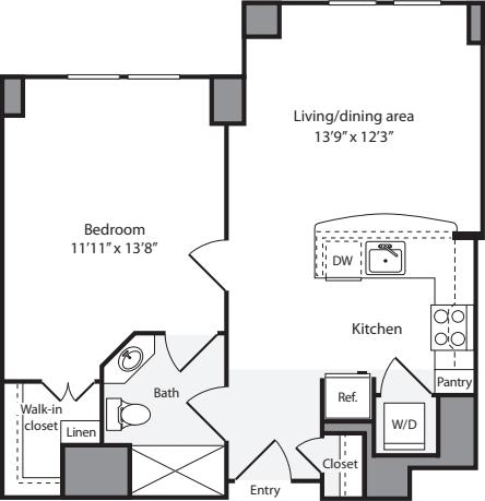 1 Bedroom CS