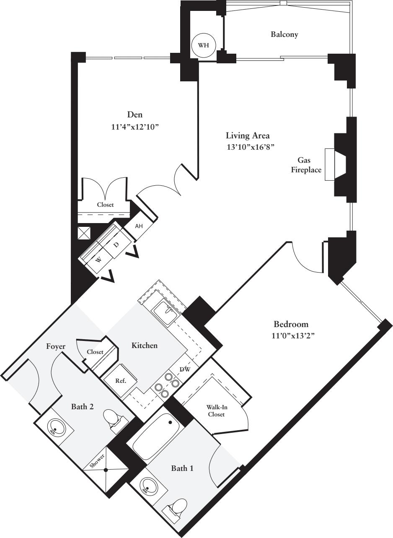 2 Bedrooms AA