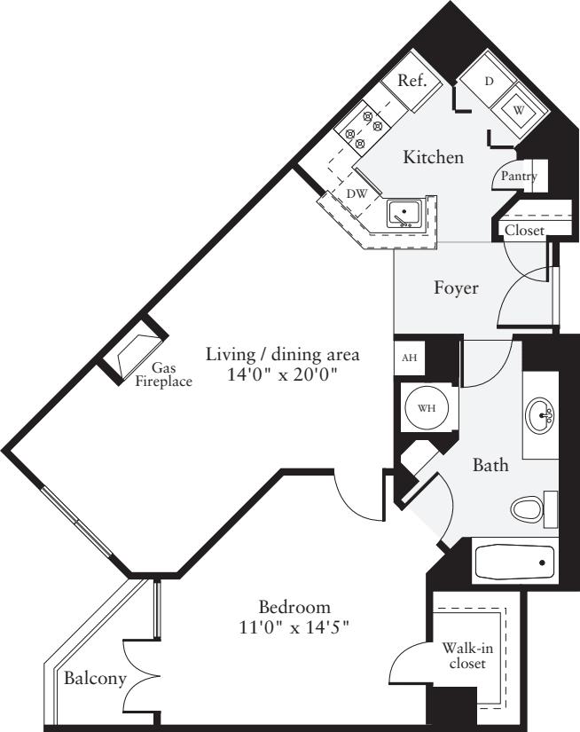 1 Bedroom H