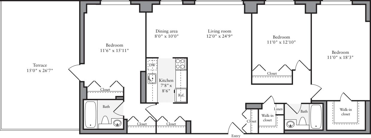 3+ Bedrooms Z