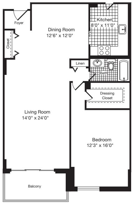 1 Bedroom Z