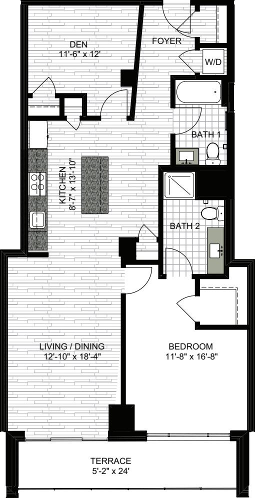 1 Bedroom LL